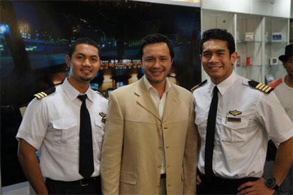 "Movie Shooting ""Pilot Cafe"""