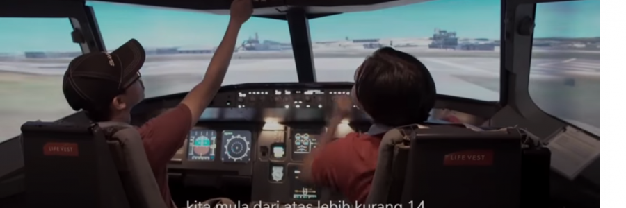 SimFlightKL was featured on Zarul Umbrella